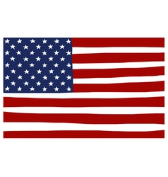 America USA stars and stripes flag stylized vector
