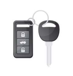 Car Key with Remote Control vector