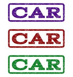 car watermark stamp vector image