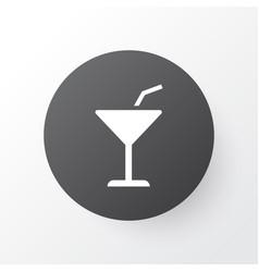 cocktail icon symbol premium quality isolated vector image