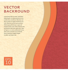 Colored paper abstract background vector image