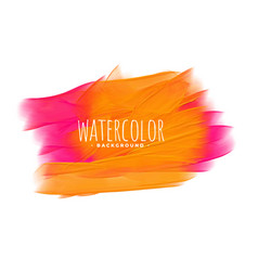 Hand painted watercolor texture in pink and vector