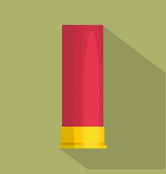large cartridge icon flat style vector image