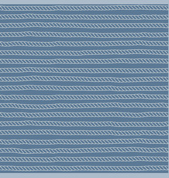 linear rope seamless pattern vector image