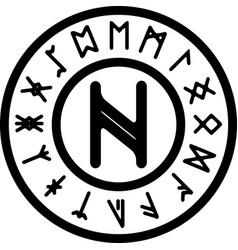 Nagal rune vector