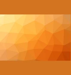 orange abstract geometric rumpled triangular low vector image