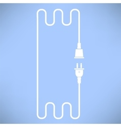 Plug and Socket Concept vector image vector image