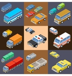 Set of isometric transport vector