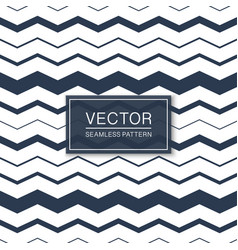 stylish seamless striped pattern - blue and white vector image