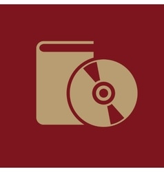 Audiobook icon design library audiobook vector