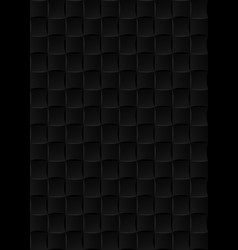 Black ceramic tiles seamless texture abstract vector