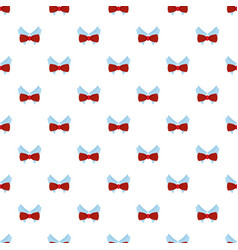 bow tie shirt pattern seamless vector image