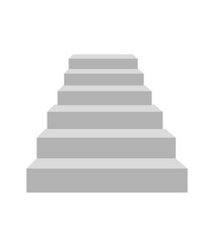 detailed stairs vector image