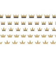 king crown logo vector image