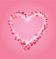 light heart 3 380 vector image