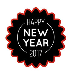 New year logo 2018 image vector
