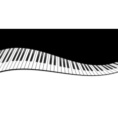 Piano template vector
