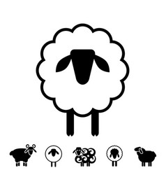 Sheep Pictograph Logo Vector Images (over 180)