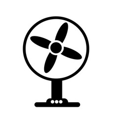 table fan icon design vector image