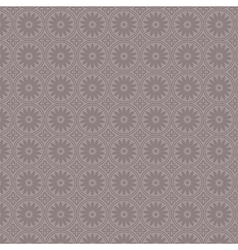 Violet simple vintage floral seamless pattern vector