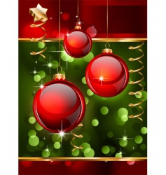 Christmas flyers or posters vector image vector image
