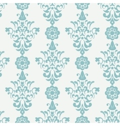 Floral retro wallpaper vector image