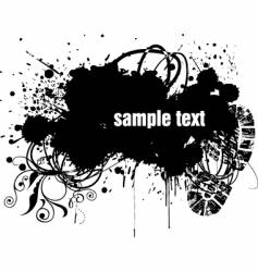 grunge copy-space vector image