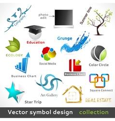 Color Symbol Design vector image