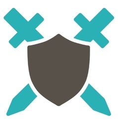 Guard Icon from Commerce Set vector