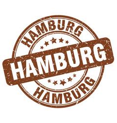 Hamburg stamp vector