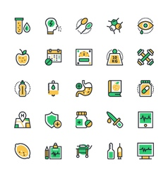Medical and health icons 2 vector