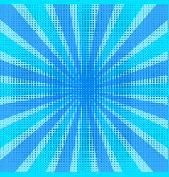 pop art retro comic style blue stripped vector image