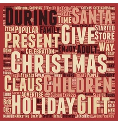 Christmas Article 39 text background wordcloud vector image