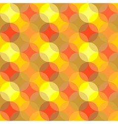 Seamless pattern of colored circles vector image vector image