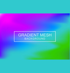 Abstract color gradient background vector