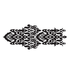 abstract ethnic style vector image