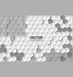 abstract white background embossed surface vector image
