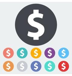 Dollar sing vector image