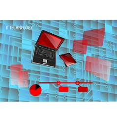 It tecnology vector