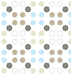Seamless pattern on white background vector