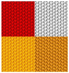 Vehicle reflector seamless pattern vector