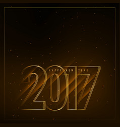 2017 new year background with diagonal lights vector image