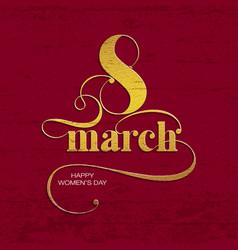 8 march vector
