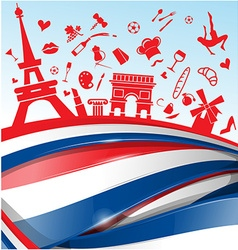 France background vector