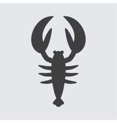 Lobster icon vector image