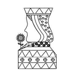 Queen gamble card poker casino symbol vector