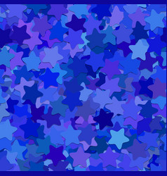Repeating star pattern background - from rounded vector