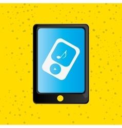 smartphone service design vector image