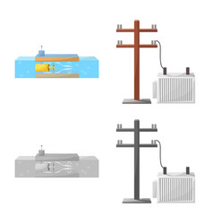 Source and environment icon vector
