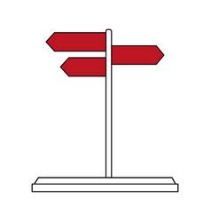 street sign design vector image